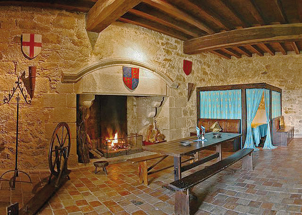 Slaapkamer Kasteel : Château de Tennessus-Bed & Breakfast in ...